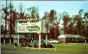TOTOWA, New Jersey  NJ   Roadside  STRATFORD MOTOR COURT  c1950s   Postcard