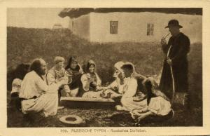 russia, Russian Types, Russian Village Life (1915)