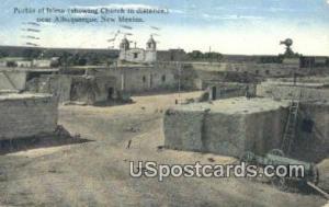 Pueblo of Isleta Albuquerque NM 1915