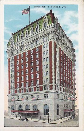 Hotel Benson, Portland, Oregon, 1930-1940s