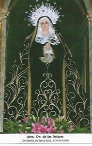 POSTAL 54696: Nuestra Se?ra de los Dolores. Guadalajara