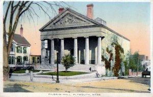 [ Unico ] US Massachusetts Plymouth - Pilgrim Hall