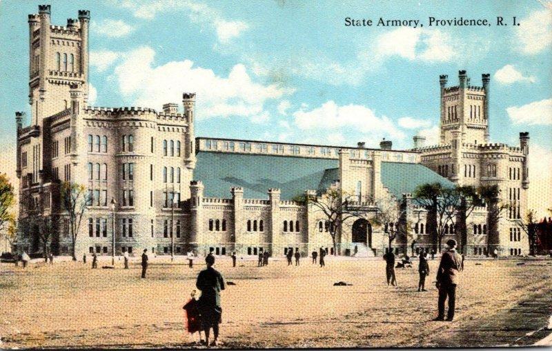 Rhode Island Providence State Armory