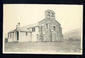 Whittier, New Hampshire/NH Photo Postcard, St. Andrews-In-