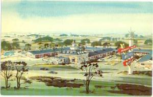 Albert Pick Motel on Route 20 at Alpine Rd, Rockford, Illinois, IL, Chrome