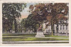 Yale Campus Showing Vanderbilt Hall And Yale Library New Haven Connecticut