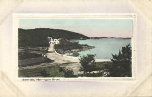 bermuda, Harrington Sound (1910s) Embossed