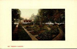 Virginia Mount Vernon Washington's Mansion The Garden 1910