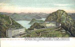 Vierwaldstatter See Swizerland, Schweiz, Svizzera, Suisse Pilatus mit Blick a...