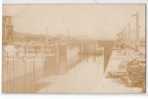 RPPC, Migiul Locks, 1st Boats Through, Panama CZ