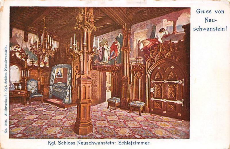 Germany Gruss von Neuschwanstein! Kgl. Schloss Neuschwanstein ...
