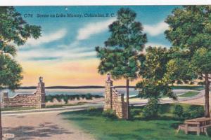 South Carolina Columbia Scene On Lake Murray