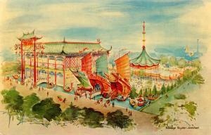 NY - 1964-65 World's Fair. Hong Kong Pavilion