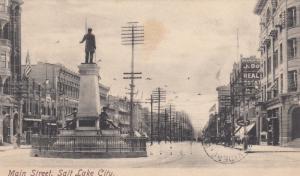 SALT LAKE CITY, Utah, PU-1905; Main Street
