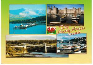 Post Card WALES The North Wales Coast 4 views Judges C20997