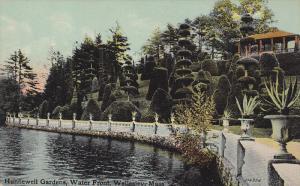 Hunnewell Gardens, Water Front, Wellesley, Massachusetts, 1900-1910s
