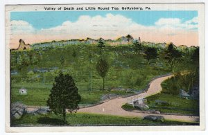 Gettysburg, Pa, Valley of Death and Little Round Top