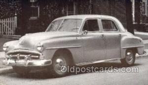 1951 Plymouth Cranbrook 4 Door Sedan Automotive, Autos, Cards Old Vintage Ant...