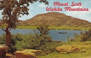 Oklahoma Lawton Mount Scott In The Wichita Mountains
