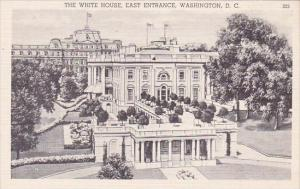 The White House East Entrance Washington DC