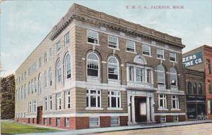 JACKSON, Michigan, 1900-1910's; Y.M.C.A. Building
