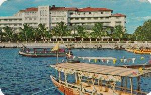 MANILA, Philippines,40-60s; Pasig River Sightseeing Boats @ Manila Hotel Landing