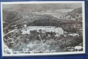 The Greenbrier White Sulphur Springs WV RPPC Summins Photo 3-D-103 Unposted