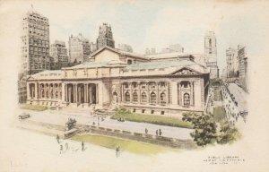 NEW YORK CITY, 1930s ; Public Library