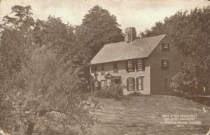 USA Home of Anne Bradstreet Massachusetts 01.64