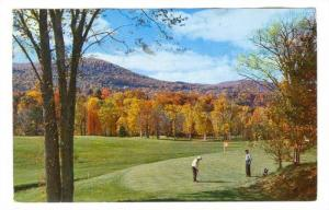 Golf Course, Dorest Inn , Vermont , PU-1977