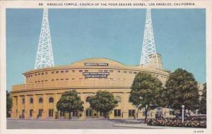 Angelus Temple Church Of The Four Square Gospel Los Angeles California