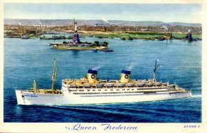 National Hellenic American Line - SS Queen Frederica