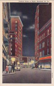 Federal Street At night Bluefield West Virginia