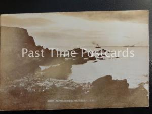 c1912 RP - Ilfracombe Sunset C.N. - showing ships passing in the distance