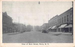 Perry New Hampshire Main Street Scene Historic Bldgs Antique Postcard K62039