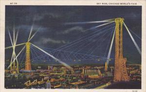 Sky Ride Chicago World's Fair 1933