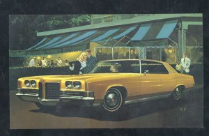 1971 PONTIAC GRAND VILLE SPRINGFIELD MISSOURI CAR DEALER ADVERTISING POSTCARD