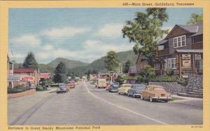 Main Street Gathlinburg Tennessee