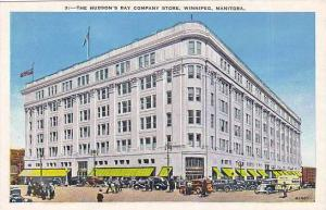 Exterior, The Hudson's Bay Company Store,  Winnipeg, Manitoba, Canada,   30-40s