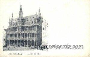 Maison du Roi Bruxelles, Belgium Unused