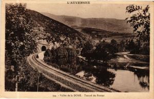 CPA L'Auvergne - Vallée de la DORE - Tunnel du Perrier (244685)