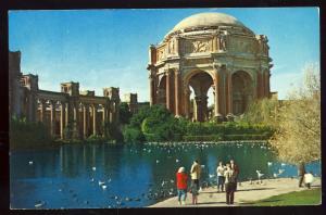 San Francisco, Calif/CA Postcard, Palace Of Fine Arts