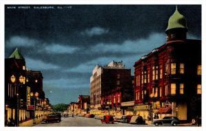 Illionis Galesburg Main Street