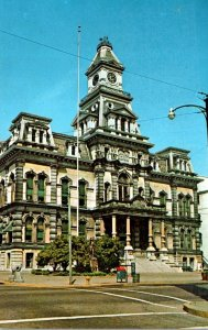 Ohio Zanesville Muskingum County Court House