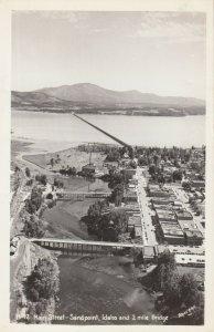 RP: SANDPOINT ,  Idaho , 1940s ; Main Street
