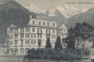 This Is The Hotel We Stayed At Hotel Bellevue Intelaken Postcard