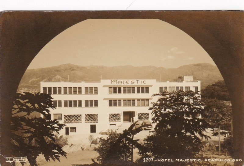 Mexico Acapulco Hotel Majestic Real Photo sk2295a