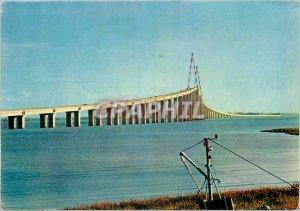Postcard Modern Bridge St Nazaire Mindin Societe Generale Enterprise