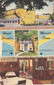 Pennsylvania Merced Hotel Humes