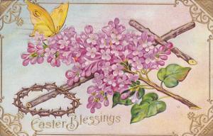 Easter Cross Greetings #1 , PU-1912